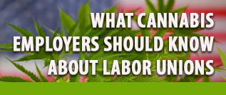 What Cannabis Employers Should Know About Labor Unions