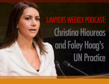 Listen to Christina Hioureas Lawyers Weekly podcast