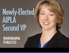 Barbara Fiacco Elected AIPLA Second VP