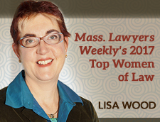 Lisa Wood Honored by Mass Lawyer's Weekly Top Women of Law