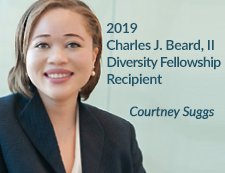 Courtney Suggs Diversity Fellow 2019