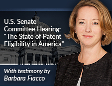 Barbara Fiacco Testifies Before Judiciary Subcommittee on Intellectual Property