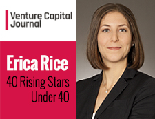 Erica Rice Venture Capital Journal 40 Rising Stars Under 40