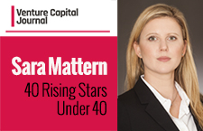 Sara Mattern Honored by Venture Capital Journal  - 40 Rising Stars Under 40