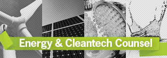 Energy & Cleantech Counsel