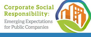 Corporate Social Responsibility Emerging Expectations for Public Companies