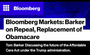 Bloomberg Markets: Barker on Repeal and Replacement of Obamacare
