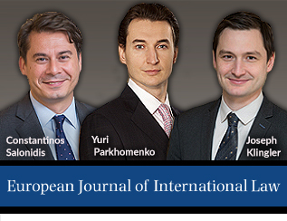 European Journal of International Law Review