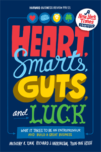 Heart, Smarts, Guts, and Luck Book Signing and Reception with Co-Author Tony Tjan