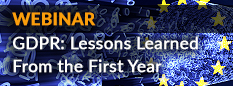 Webinar: GDP Lessons Learned From the First Year