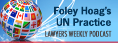 Find out about Foley Hoag's UN Practice here