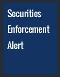 Foley Hoag Securities Enforcement Alert
