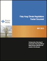 Foley Hoag Climate Negotiations Tracker Document White Paper